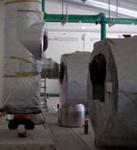 Impianto di evacuazione fumi per la Caserma Dal Molin 2