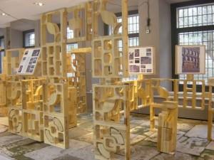 La Casa de la Moneda a Segovia ospita un acquedotto e un labirinto in  legno 2
