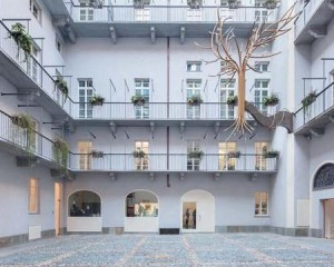 Il Giardino Barocco Verticale, dell'artista Richi Ferrero