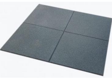 Piastrella in gomma per palestre modello Epav 100x100x20