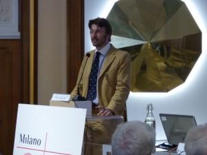 La relazione introduttiva dell'Ingegner Davide Luraschi ha sottolineato l'importanza del ruolo svolto dalla Sovrintendenza nella preservazione dell'identità paesaggistica e territoriale del nostro Paese