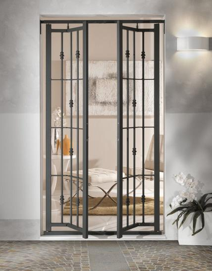Eracle l 39 inferriata perfetta per qualsiasi porta o finestra - Inferriata porta ...