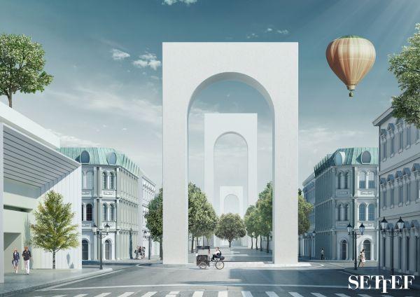 Collezione colori in architettura Urbancromie di Settef - Boulevard