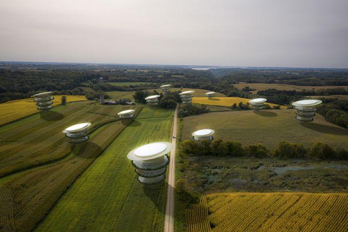 Sunflower house: l'abitazione unifamiliare carbon positive