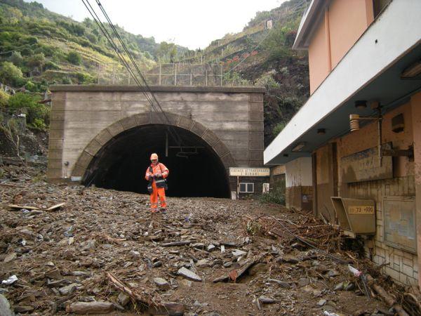 Vernazza (Cinque Terre), alluvione ottobre 2011