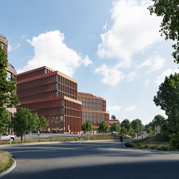 A 3NX la progettazione di Kvarter 15 a Stoccolma