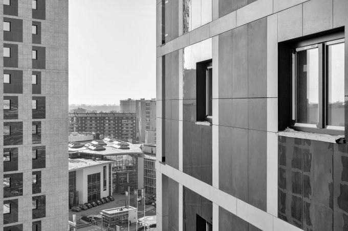 Esempio della composizione delle facciate degli edifici