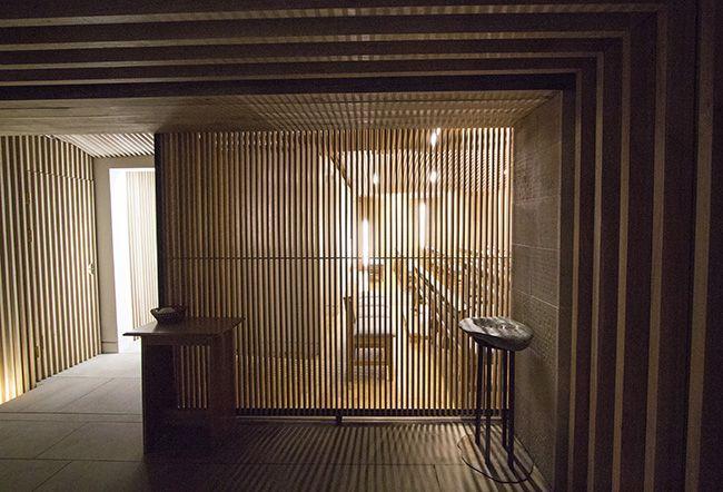 Cappella di S. Alberto Magno: foyer di ingresso.