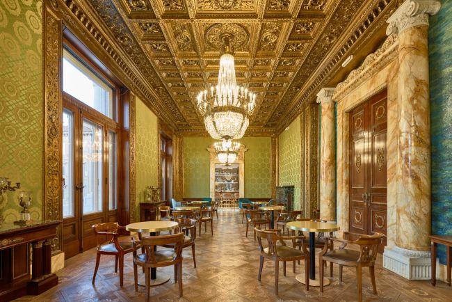 Salone storico dell'hotel Double Tree by Hilton di Trieste