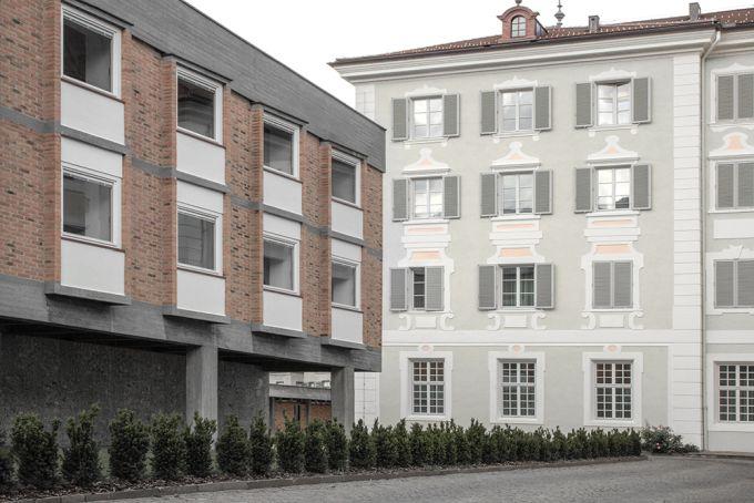 Vista della Haupthaus e del Seminario Maggiore