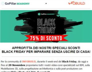 Black Friday | 75% su tutti i video-corsi