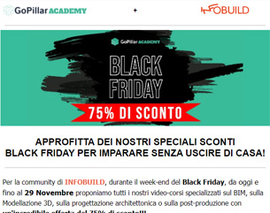 Black Friday | 75% su tutti i video-corsi