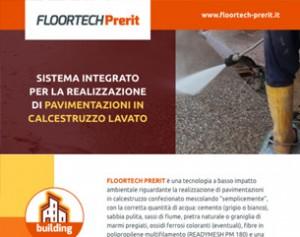 Pavimentazioni in ghiaietto lavato con la tecnologia FLOORTECH PRERIT
