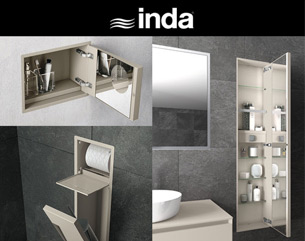 L'accessorio da bagno scompare: My Secret by INDA