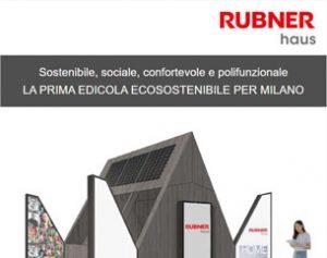 L'edicola del futuro è firmata Rubner Haus