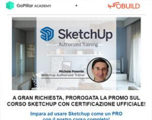 In Scadenza   Corso Sketchup a 109€