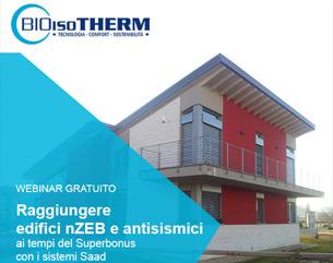 Raggiungere edifici nZEB e antisismici ai tempi del Superbonus
