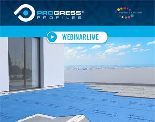 Webinar Progress Profiles: Posa di grandi lastre con Prodeso Drain System