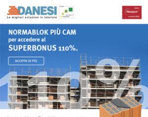 Con Normablok Più CAM accedi al Superbonus 110%