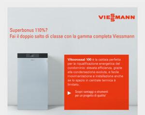 Superbonus, fai il doppio salto di classe con le soluzioni Viessmann!
