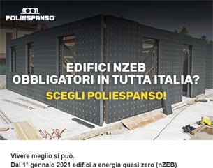 Edifici nZEB obbligatori in tutta Italia? Scegli Poliespanso!