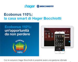 ECOBONUS 110%: la casa smart di Hager Bocchiotti
