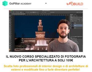 Corso Fotografia per l'Architettura a 109€