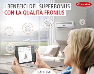 I benefici del Superbonus con la qualità Fronius