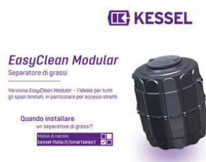 Separatore di grassi EasyClean Modular