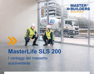 MasterLife SLS 200: la rivoluzione dei massetti cementizi