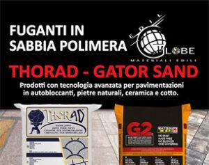 Novità: fuganti in sabbia polimera per pavimentazioni esterne