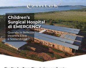Zintek per l'ospedale EMERGENCY: quando la bellezza incontra etica e sostenibilità