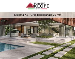 Ceramiche Keope: spazi outdoor ad elevato contenuto tecnologico