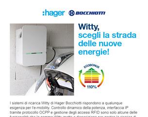 Hager Bocchiotti: Witty, scegli la strada delle nuove energie!