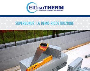 Superbonus: i vantaggi del sistema Bioisotherm