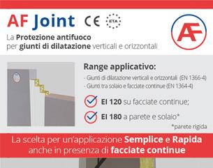 AF Joint: la protezione antifuoco per giunti di dilatazione
