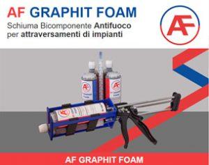 AF Graphit Foam: la schiuma bicomponente antifuoco
