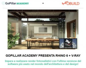 Video-Corso Rhinoceros + V-Ray a 99€
