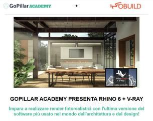 Video-Corso Rhinoceros + V-Ray a 99€