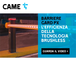 Scopri le barriere brushless Gard PX di CAME