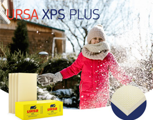 URSA XPS PLUS: la qualità alla base del cappotto. Conforme ai CAM.