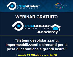 Webinar Progress Profiles Academy | Lunedì 19 Ottobre 14:30