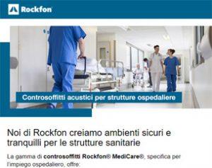 Progettare le strutture sanitarie con Rockfon