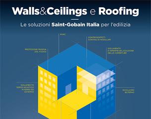Manuali tecnici Saint-Gobain per l'edilizia: scarica Walls&Ceilings e Roofing