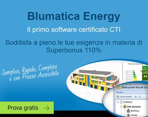 Prova gratis Blumatica Energy, il software che soddisfa le esigenze del Superbonus