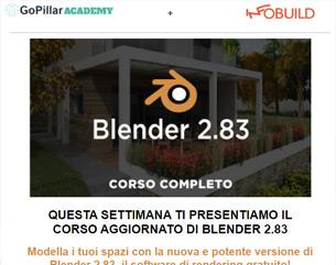 Corso BLENDER 2.83 a 99€ (versione aggiornata)