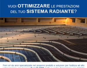 Conducibilità termica elevata con i sistemi radianti FERRIMIX