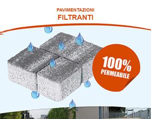 Perchè scegliere una pavimentazione 100% filtrante