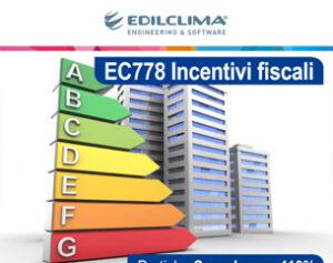 Nuovo modulo EC778 Incentivi fiscali: scopri la promo
