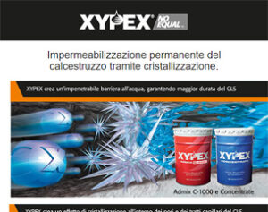 Xypex, impermeabilizzazione permanente CLS